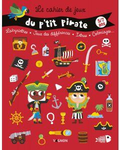 Cahier de jeux du p'tit pirate