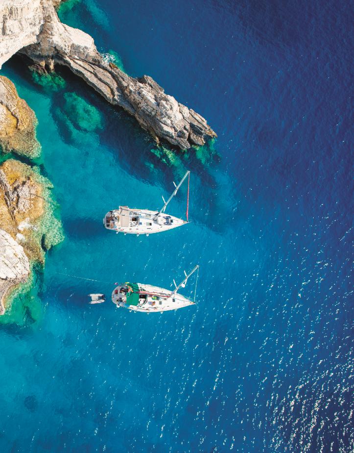 les 7 meilleures destinations européennes où louer un bateau